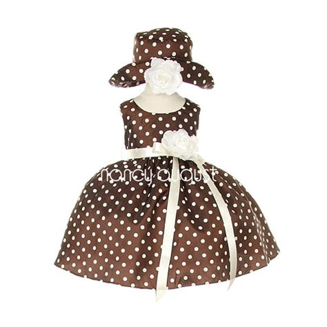 Dress Baby Motif Flower And Polkadot 9 15 Bln Available 3 Color 1000 images about brown baby dresses nancyaugust on baby dresses baby flower