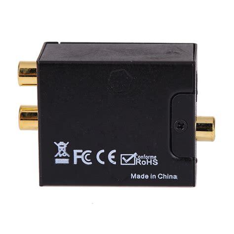 Adaptor Digital new digital to analog audio converter adapter digital adaptador optic coaxial rca toslink signal