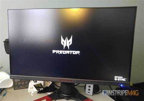 acer predator xb1 27 inch gaming monitor review pinstripe magazine