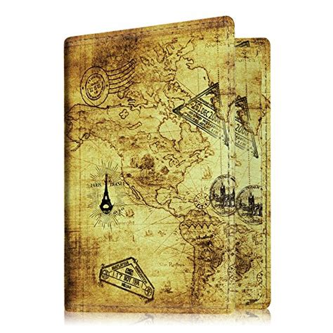Cover Passport Line Premium fintie passport holder travel wallet premium vegan leather rfid blocking cover securely