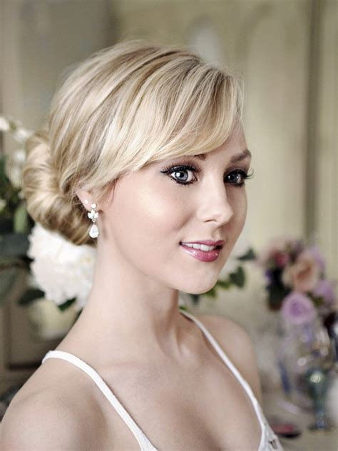 Formal Bun Hairstyles by Pictures Bun Hairstyles Formal Chignon