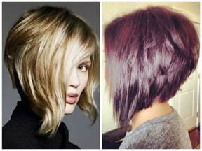 hair ears longer in back stacked inverted bob with highlights hairstyle gallery