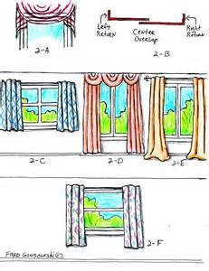 How Do You Drape A Window Scarf The Right Way To Hang Curtains And Drapes Fred