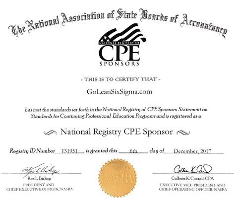cpe certificate template cpe lean six sigma yellow belt certification