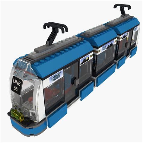 Christie 8404 Original 2 3ds max tram lego