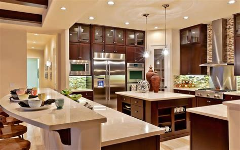 toll brothers model home interior design with kitchen