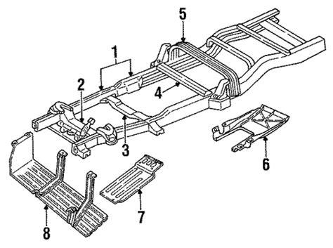 frame components   dodge dakota parts wermopar