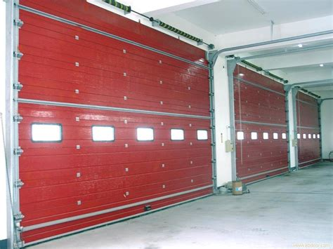 industrial sectional overhead doors sectional door steel commercial and industrial 3rd