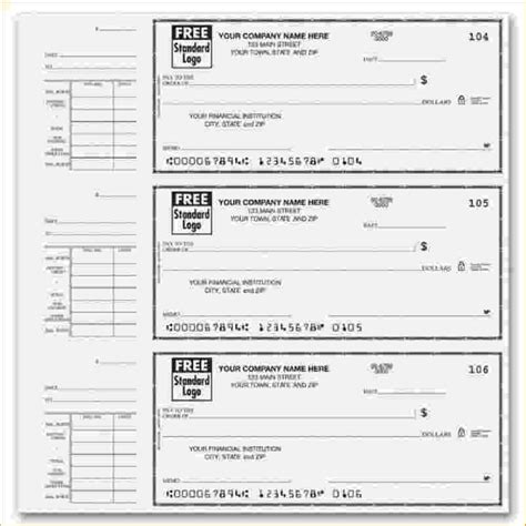blank check stub template with pay stub template 38155 free blank
