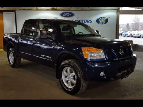 pre owned nissan titan pre owned 2012 nissan titan 4 door in prince george