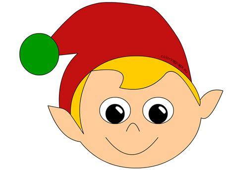 printable elf head elf clipart elf head pencil and in color elf clipart elf