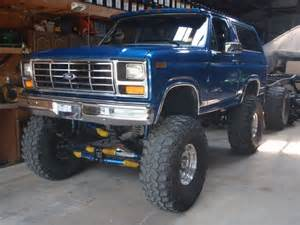 85 Ford Bronco 85 Bronco Lifted Just Like My Truck But This One Is