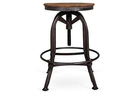 Akron Adjustable Height Bar Stool by 58 Best Images About Iron Barstools On