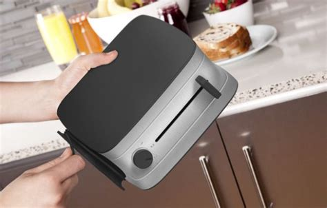 Space Saving Toaster Space Saving Crisp Toaster Features Two Expandable