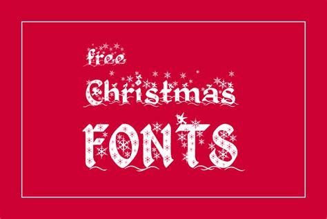 elegant  christmas fonts tutorialchip