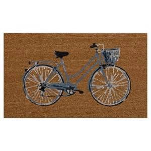 bicycle doormat threshold 20 quot x30 quot outdoor doormat bicycle target