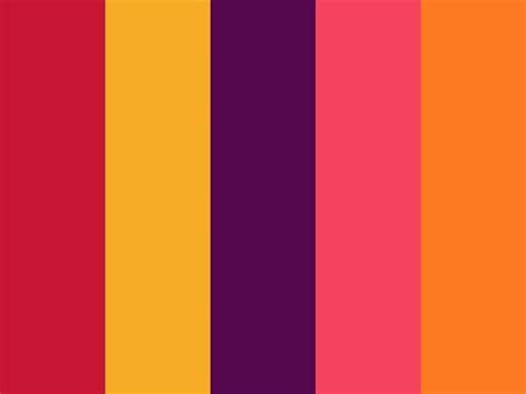quot laugh quot by ivy21 bright fuchsia magenta orange pink purple summer yellow color palettes