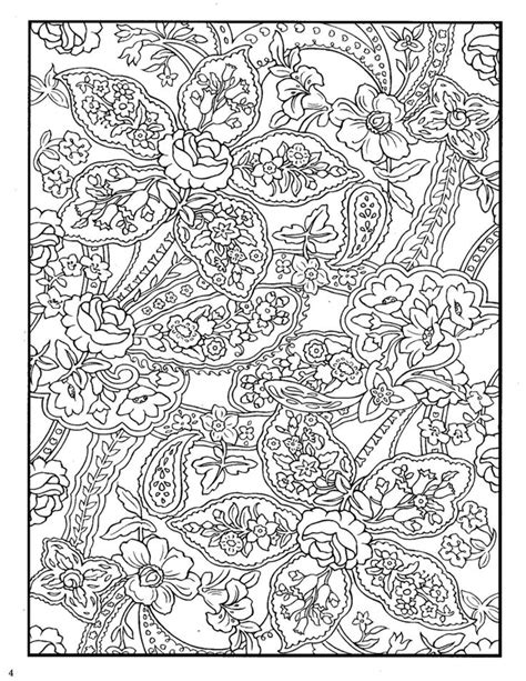 detailed designs coloring pages dover paisley designs coloring book aquarel drawing
