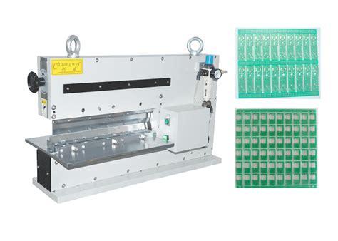 aluminum v cut pcb depanelizer pneumatic pcb depanelizer with ceramic capacitors