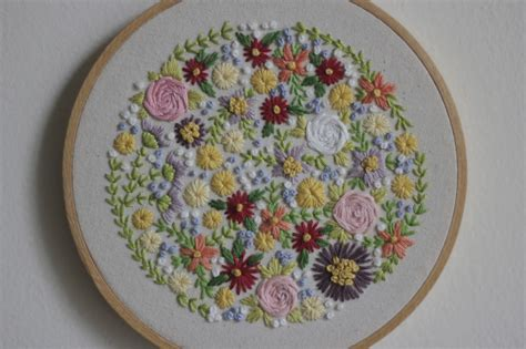 embroidery floral projectiles floral embroidery
