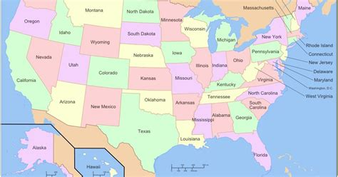america map including hawaii do you state symbols playbuzz