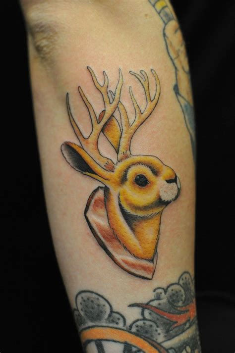 jackalope tattoo jackalope tattoos