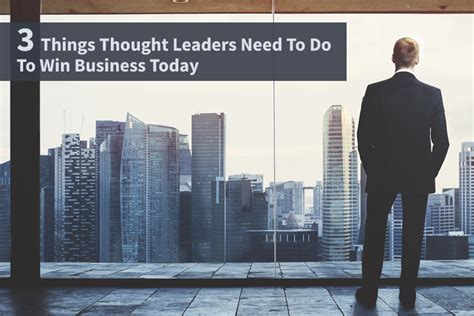 stuff you need to to win a pub quiz books 3 things thought leaders need to do to win business today