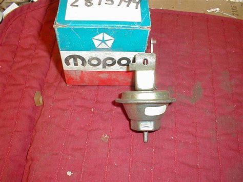 Original Charger Advan Multifungsi nos mopar vacuum advance unit 1969 71 318 cubic inch a b c hiltop auto parts