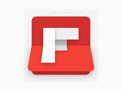 flipboard android flipboard android icon redesign materialup