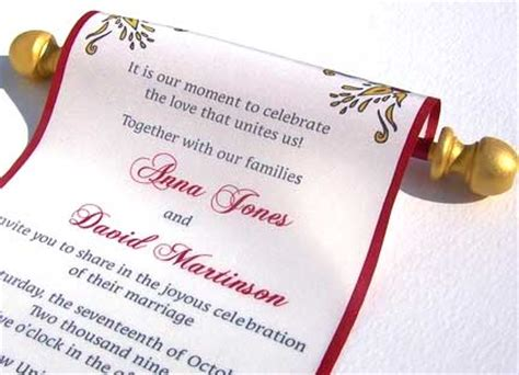 scroll wedding invitations in dubai wedding invitations scroll design yourweek 4bb099eca25e