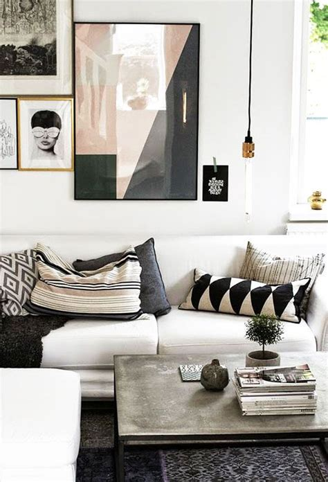 And Black Living Room by Black And White Living Room Ideas