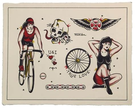 vintage tattoo flash vintage flash vintage bike flash tattoos