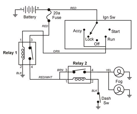 lights in a auto wiring diagram wiring diagrams