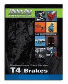 Ase Study Guide Brakes Test T4 Construction Book Express