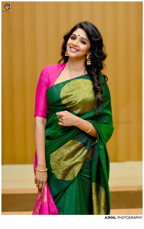 New Blouse Style8 nyla in gorgeous green pink traditional blouse saree blouse designs and saree