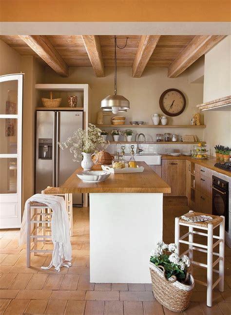 lo b 225 sico para decorar una cocina r 250 stica casa y color m 225 s de 1000 ideas sobre cocinas de caba 241 as de madera en