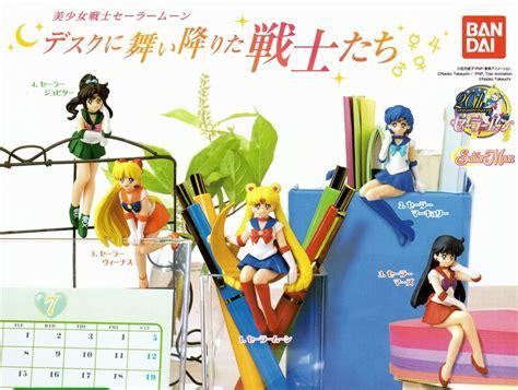 Sailormoon Bandai Gashapon Sailor Venus Orb sailor moon desk figure gashapon set of 5 bandai