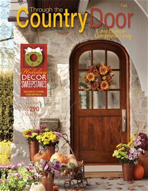 country home decor catalogs through the country door catalog