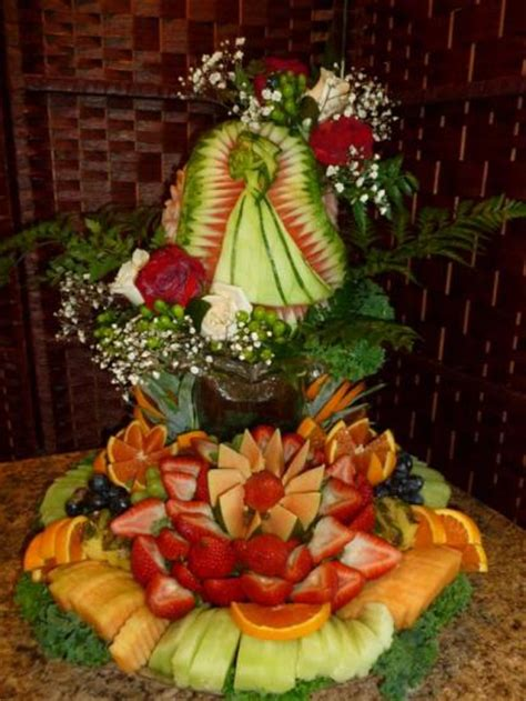 Bridal Shower Fruit Display by Gallery Eye Catching Edibles