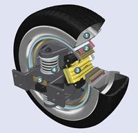 Brake System In Electric Car Automotive Technology Of The Future