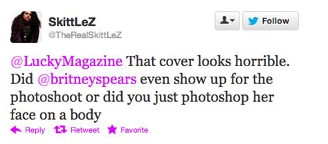britney spears lucky magazine controversy us weekly britney spears lucky magazine photo controversy