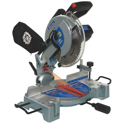 cing saw king canada 10 compound miter saw with laser 8324n