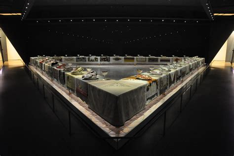 judy chicago dinner judy chicago f e m i n i s t a r t p o w e r