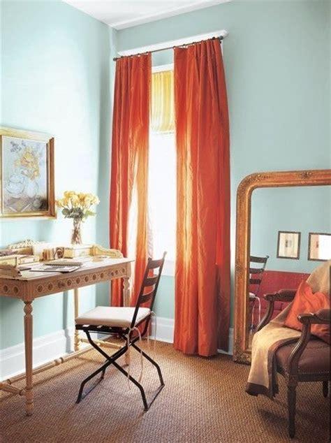 curtain ideas for blue walls 17 best ideas about burnt orange curtains on pinterest