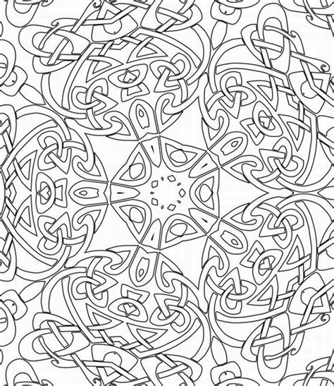 pattern coloring pages for adults coloring home