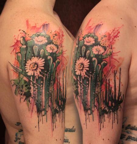 cactus flower tattoo cactus flowers artsy