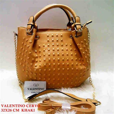 Grosir Tas Botega Cervo K001 supplier tas valentino terbaru tas valentino cervo kulit