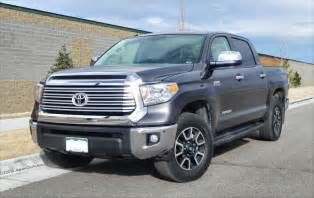 Toyota Tundra Limited 2014 Toyota Tundra Limited Big Capable Still Lacking