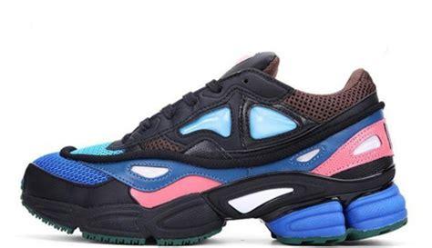 shoes sneakers black sneakers raf simons adidas raf simons ozweegos adidas wheretoget