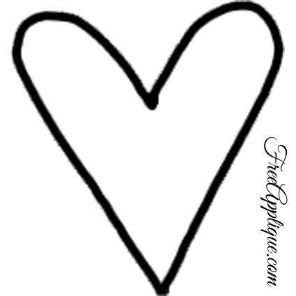 heart pattern line heart shapes heart patterns for applique freeapplique com
